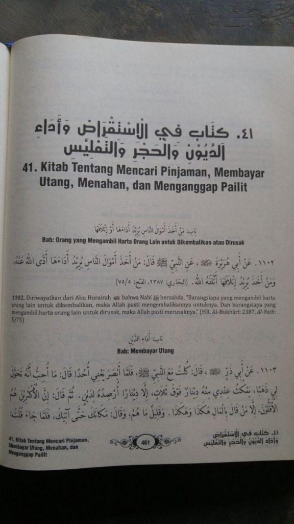 Buku Ringkasan Shahih Bukhari isi 2