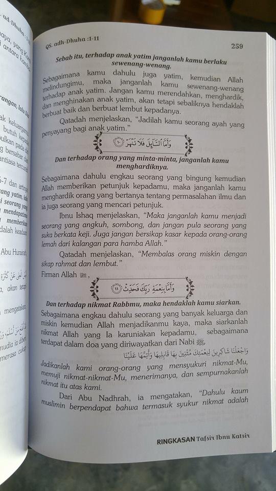 ringkasan tafsir al-quran buku isi