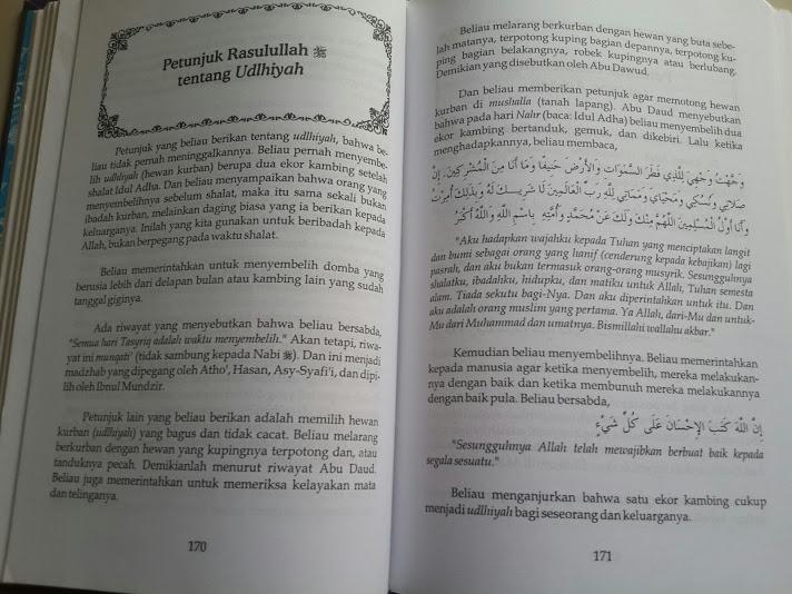 Buku Ringkasan Zadul Ma'ad Bekal Ke Akhirat Isi