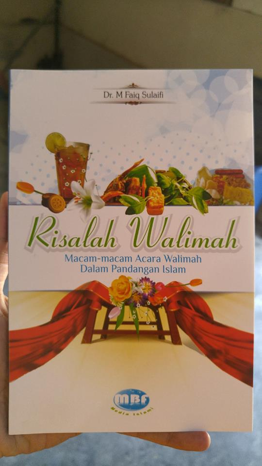 Buku Risalah Macam-macam Walimah Dalam Pandangan Islam cover
