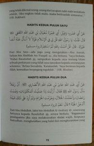 Buku Riyadhus Shalihin & Penjelasannya Edisi Lengkap isi