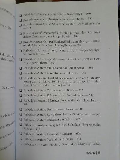 Buku Roh Oleh Ibnul Qayyim Daftar Isi
