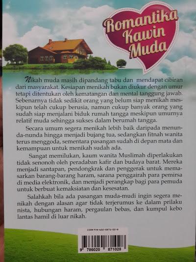 Buku Romantika Kawin Muda Cover 2