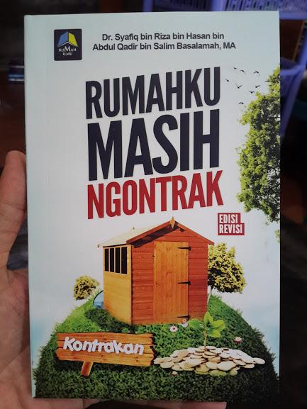 Buku Rumahku Masih Ngontrak Cover