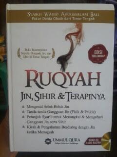 Buku Ruqyah Jin Sihir Dan Terapinya Cover