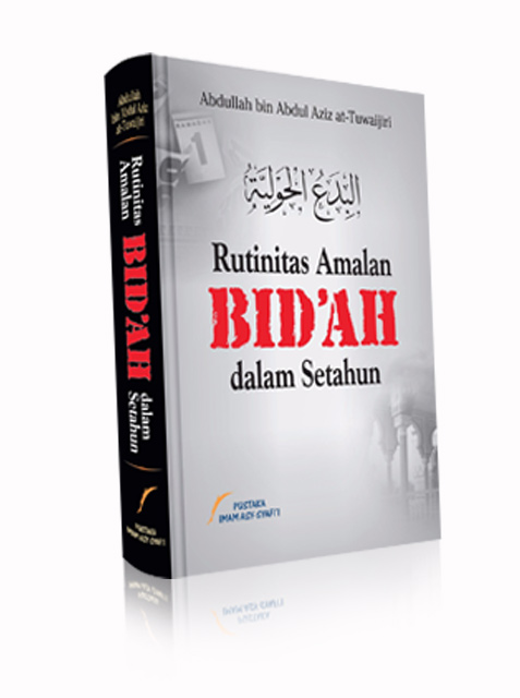 Buku Rutinitas Amalan Bid'ah Dalam Setahun Cover
