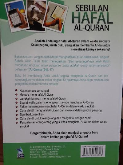 Buku Sebulan Hafal Al-Quran Cover 2