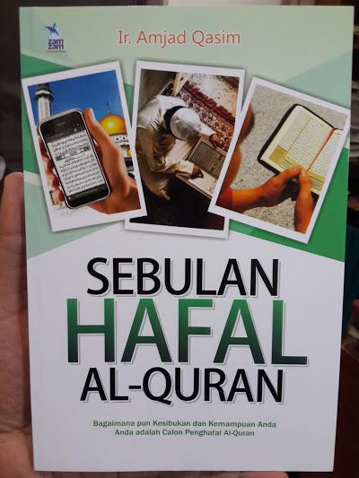 Buku Sebulan Hafal Al-Quran Cover