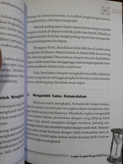 Buku Sebulan Hafal Al-Quran Isi