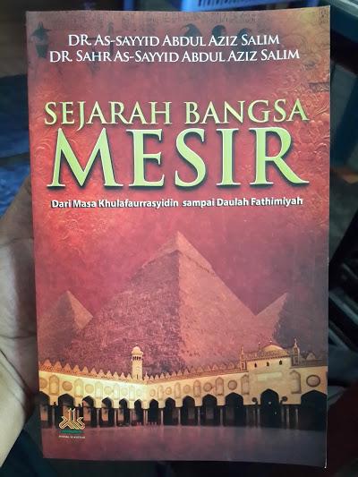 Buku Sejarah Bangsa Mesir Cover