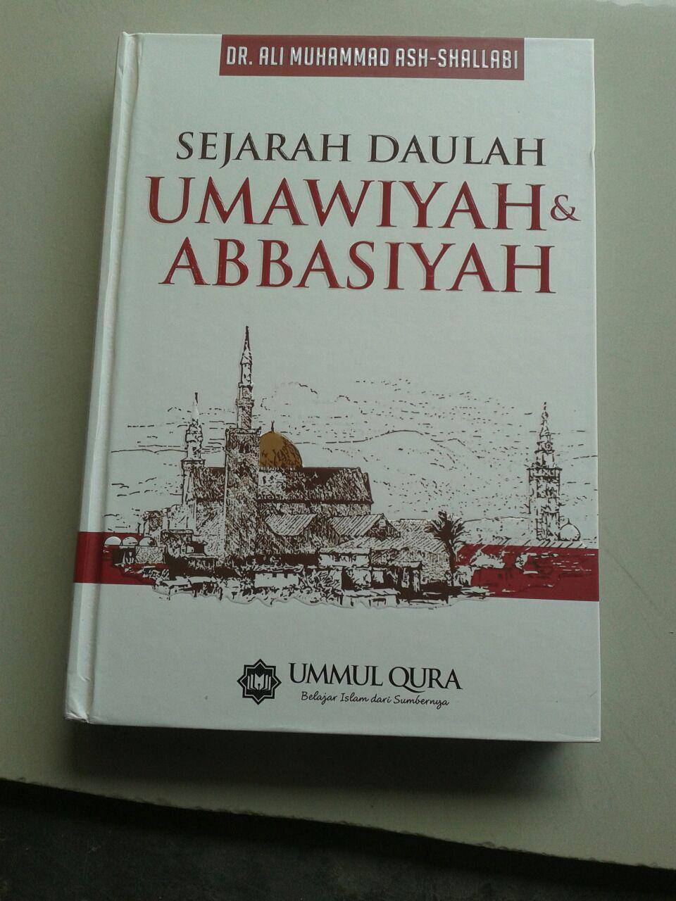 Buku Sejarah Daulah Umawiyah & Abbasiyah cover 2