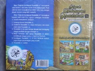 Buku Anak Sejarah Kehidupan Rasulullah Sirah Nabawiyah Cover Belakang