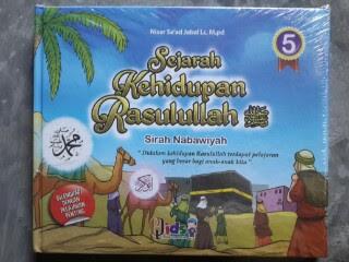 Buku Anak Sejarah Kehidupan Rasulullah Sirah Nabawiyah Cover