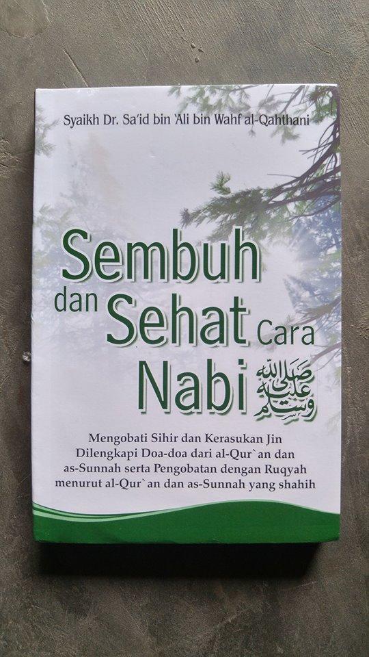 Buku Saku Sembuh Dan Sehat Cara Nabi cover