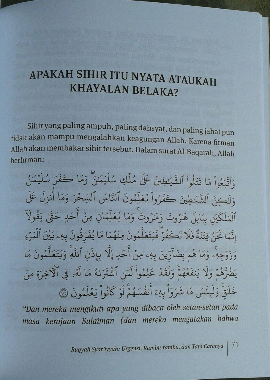 Buku Sembuh Dengan Al-Quran isi 5