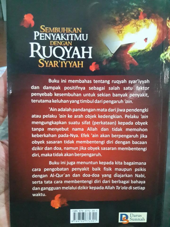 sembuhkan penyakitmu dengan ruqyah syar'iyyah buku cover 2