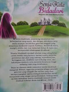Buku Senja Kala Bidadari Menyingkap Tabir Wanita Shalihah Cover 2