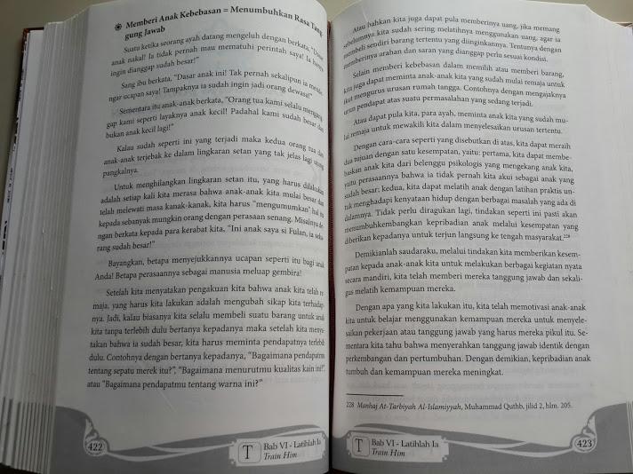 Buku Sentuhan Jiwa Untuk Anak Kita Cover Belakang Isi