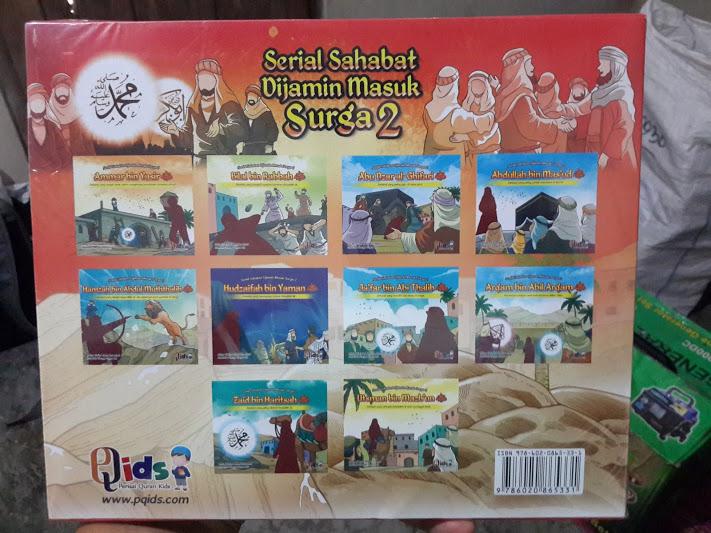 Buku Anak Serial Sahabat Dijamin Masuk Surga Seri 2 Cover Set 2