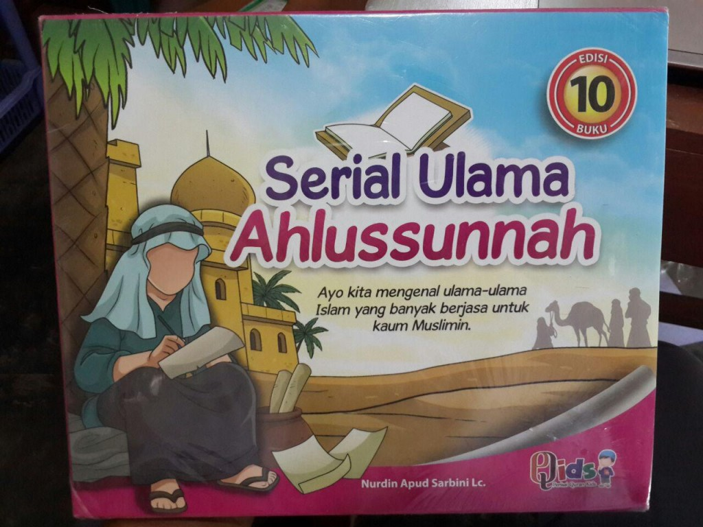Buku Anak Serial Ulama Ahlussunnah Edisi 10 Imam Set