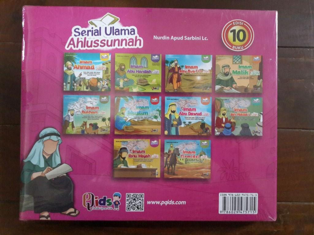 Buku Anak Serial Ulama Ahlussunnah Edisi 10 Imam Set 2