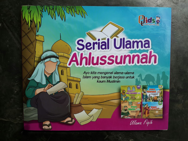 Buku Anak Serial Ulama Ahlussunnah Imam Fikih 4 Madzhab Cover