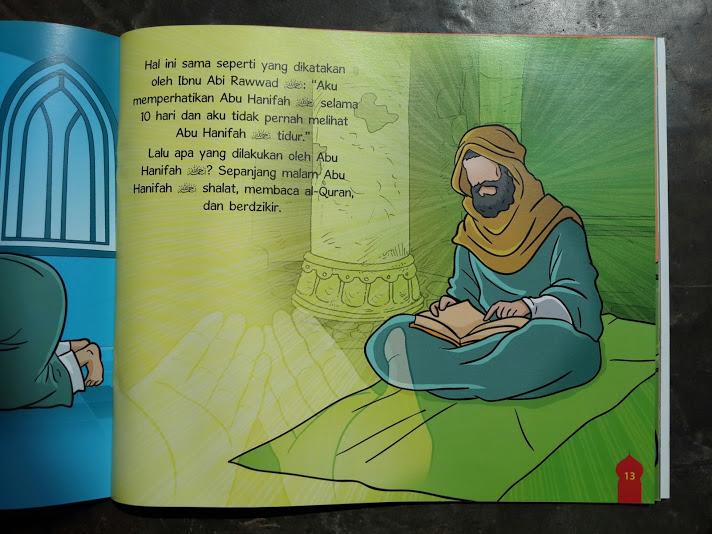 Buku Anak Serial Ulama Ahlussunnah Imam Fikih 4 Madzhab Isi 1