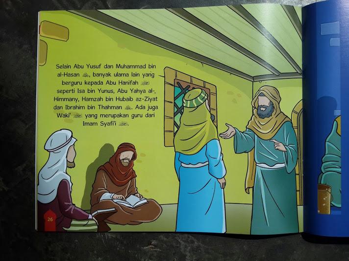 Buku Anak Serial Ulama Ahlussunnah Imam Fikih 4 Madzhab Isi 2