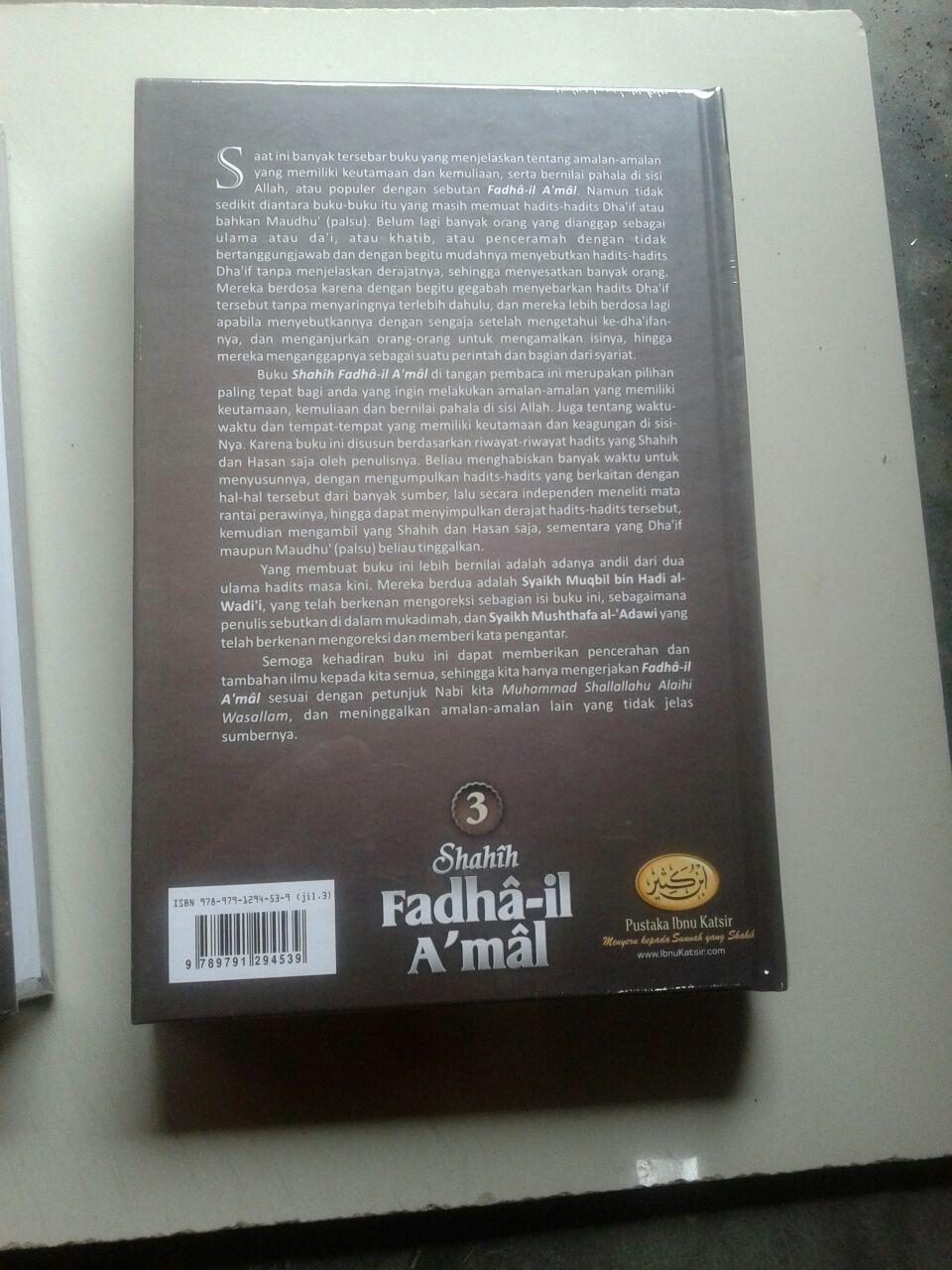 Buku Shahih Fadhail Amal 1 Set 3 Jilid cover 2