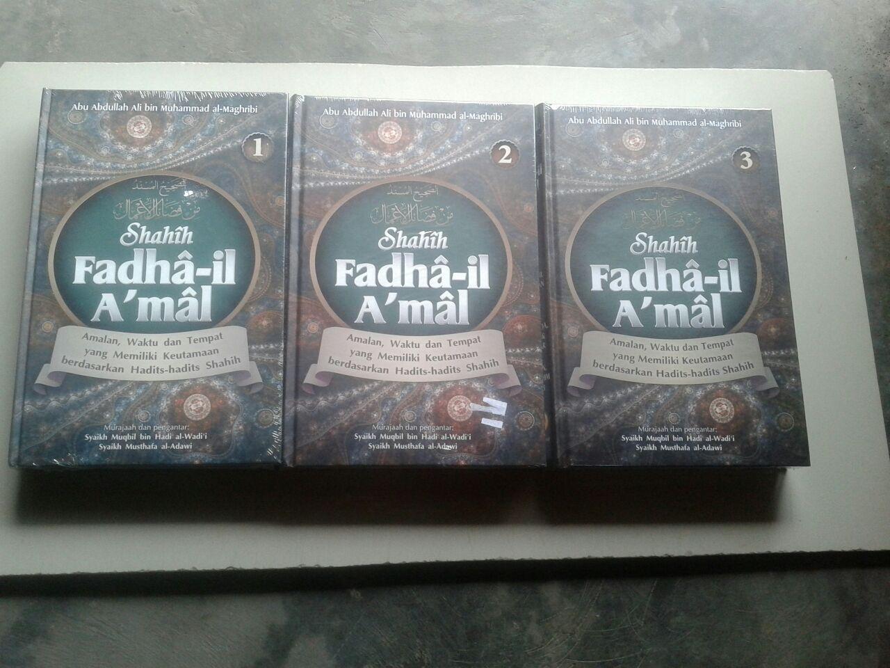 Buku Shahih Fadhail Amal 1 Set 3 Jilid cover