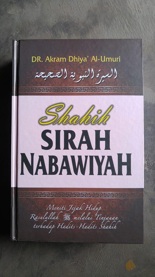 Buku Shahih Sirah Nabawiyah Cover