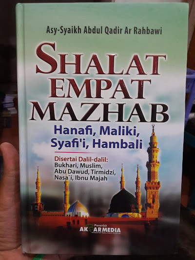 Buku Shalat Empat Mazhab Disertai Dalil-Dalil Cover
