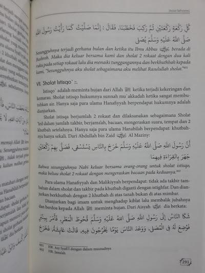 Buku Shalat Empat Mazhab Disertai Dalil-Dalil Isi