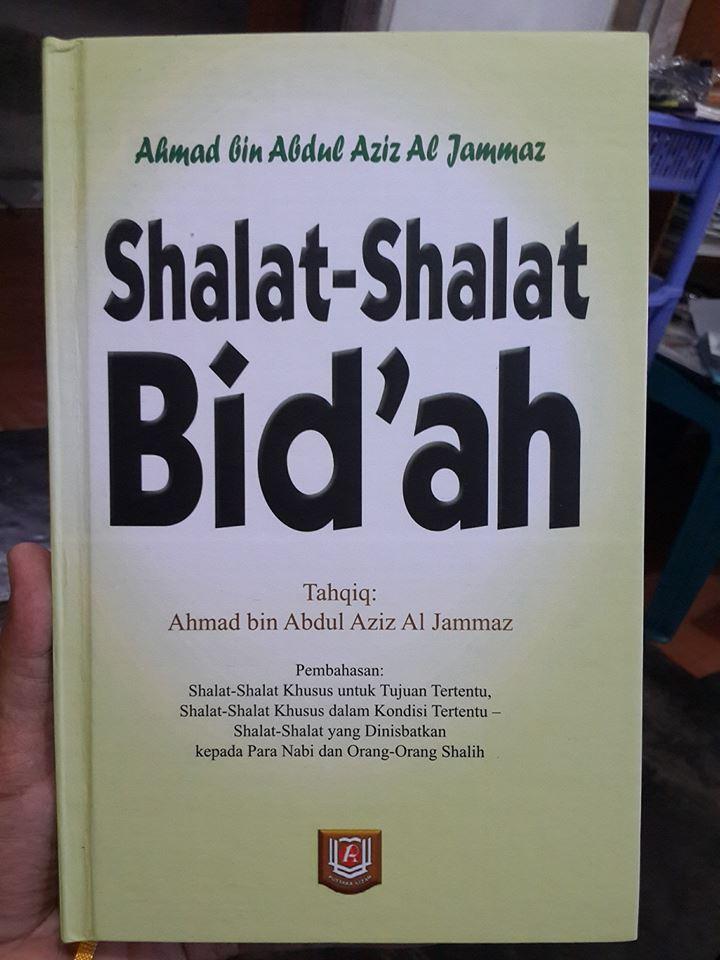 Buku Shalat Shalat Bid'ah Cover