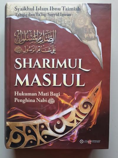Buku Sharimul Maslul Hukuman Mati Bagi Penghina Nabi Cover
