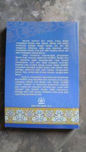 """Buku Shorof Praktis """"Metode Krapyak"""" cover 2"""