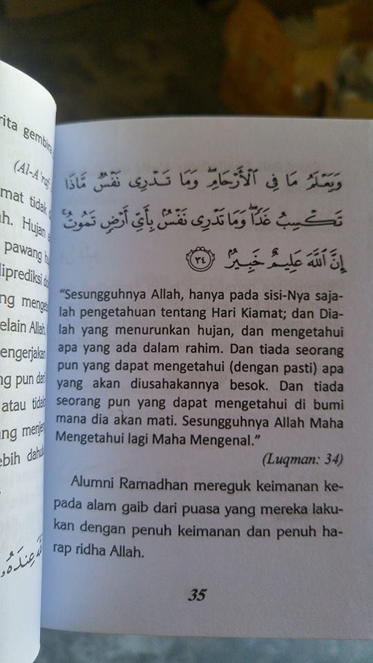 siapakah alumni ramadhan buku isi