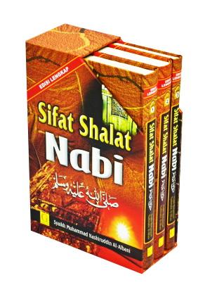 Buku Sifat Shalat Nabi Edisi Lengkap 3 Jilid Cover