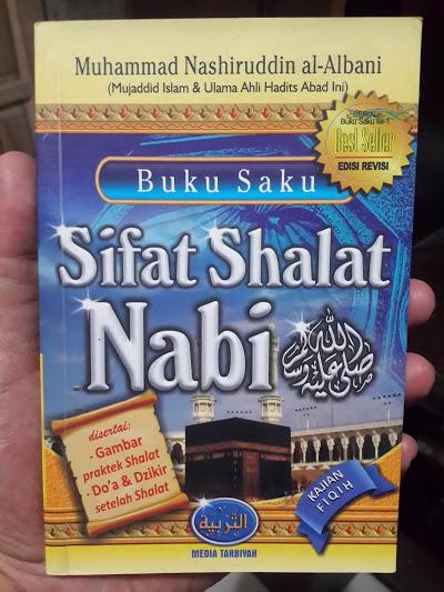 Buku Saku Sifat Shalat Nabi Oleh Syaikh Albani Cover
