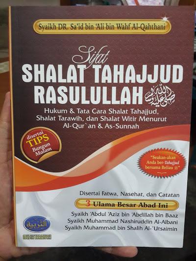 Buku Sifat Shalat Tahajjud Rasulullah Cover