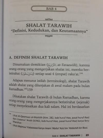 Buku Sifat Shalat Tahajjud Rasulullah Isi