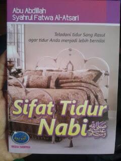 Buku Sifat Tidur Nabi Cover