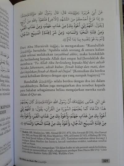 Buku Sifat Wudhu Dan Shalat Nabi Isi