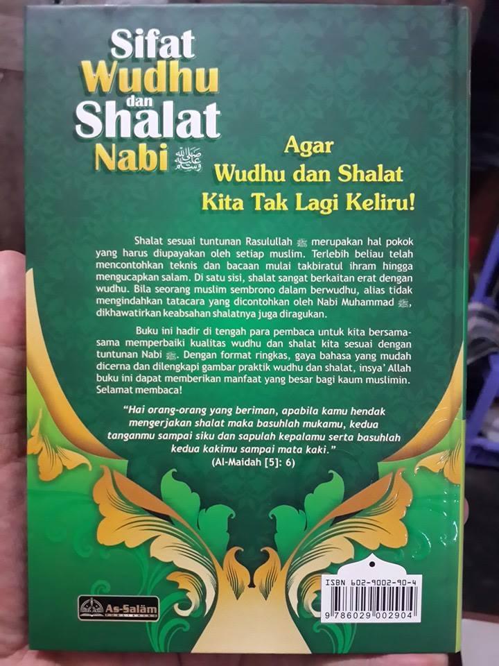 Buku Sifat Shalat Dan Wudhu Nabi Plus Gambar Peraga Cover 2