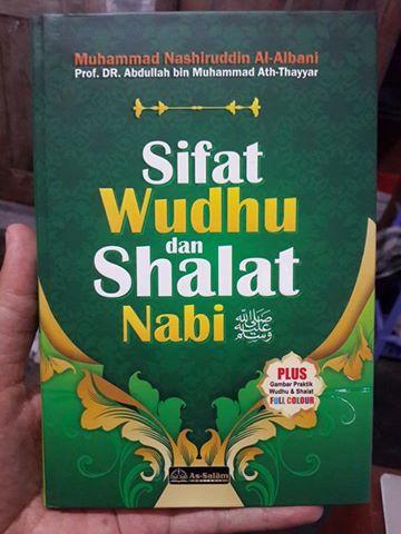Buku Sifat Shalat Dan Wudhu Nabi Plus Gambar Peraga Cover