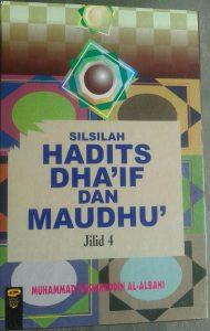Buku Silsilah Hadits Dha'if Dan Maudhu' 1 Set 3 Jilid cover 2