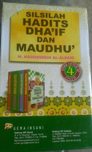 Buku Silsilah Hadits Dha'if Dan Maudhu' 1 Set 3 Jilid cover 3