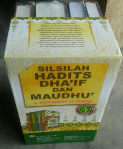 Buku Silsilah Hadits Dha'if Dan Maudhu' 1 Set 3 Jilid cover 4