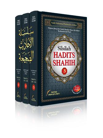 Buku Silsilah Hadits Shahih Syaikh Albani Cover Set