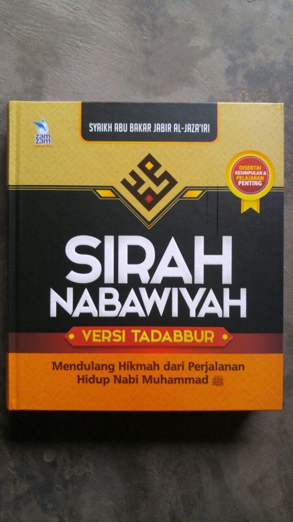 Buku Sirah Nabawiyah Versi Tadabbur cover